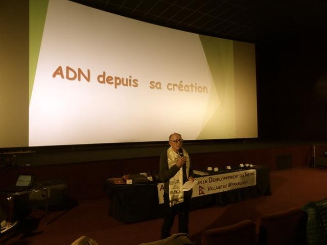 Jean VENARA, président de l'ADN, fait l'historique