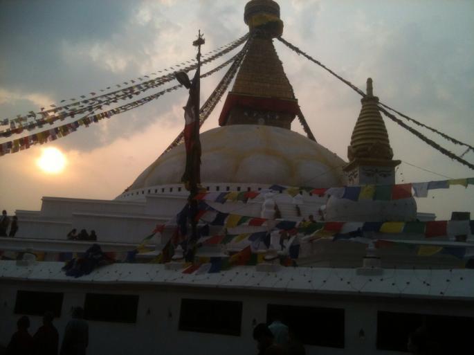 Le stupa de Kathmandou