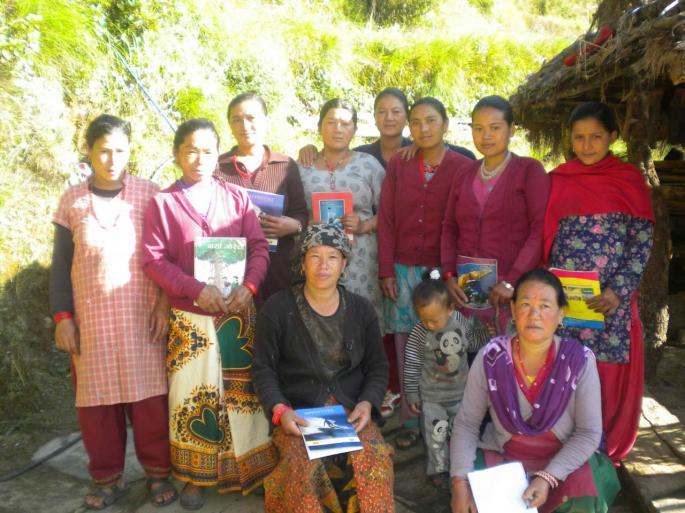 Les femmes du bas village Jorsale et Katike