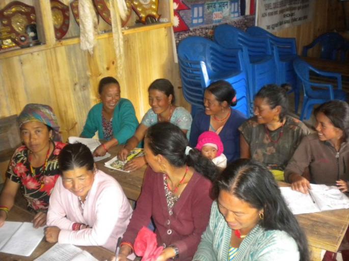 Les femmes du village Merangding 1
