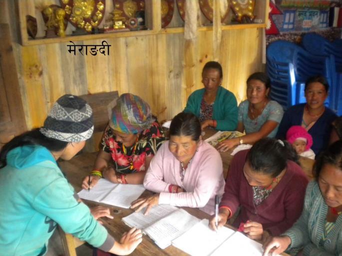 Les femmes du village Merangding