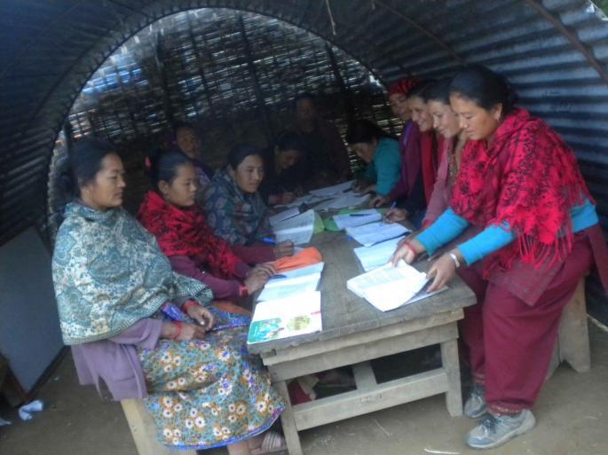 Les femmes du village