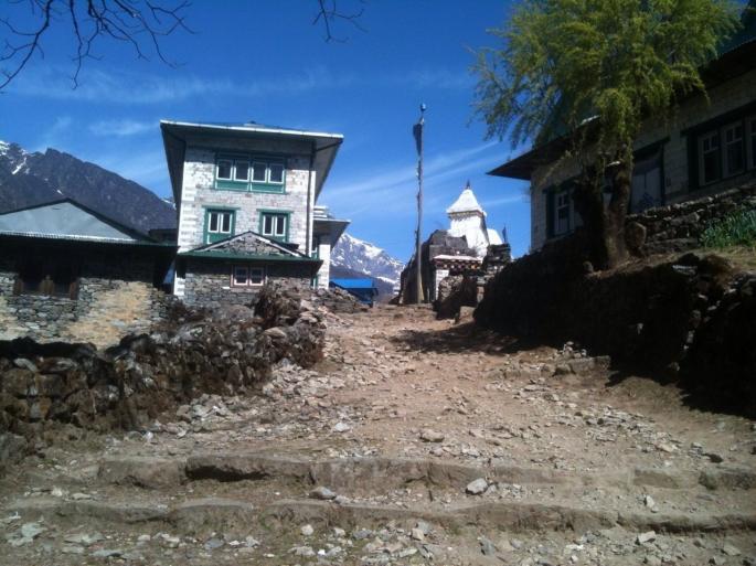 Maison typiquement Népalaise