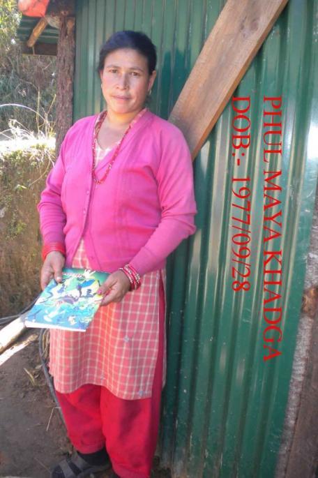 Phul Maya KHADKA Neé 28 septembre 1977